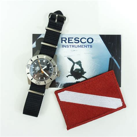 PDW Teams Up with RESCO Instruments for Dive Watch