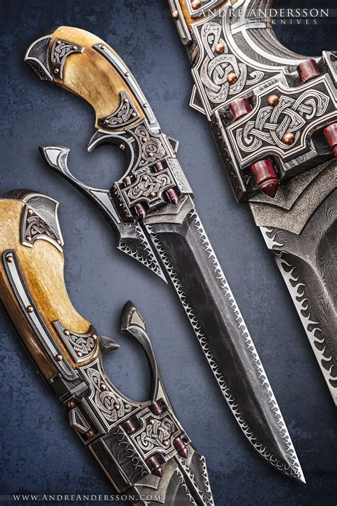 Work from 2014 | André Andersson Custom Knives | Katana