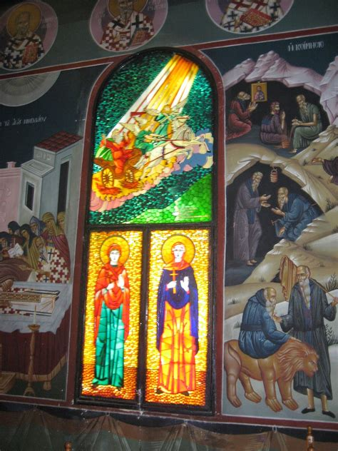 londinoupolis: Stained Glass Icons in Orthodox Churches