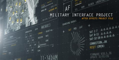 HUD Military Interface Project by meliorgames | VideoHive