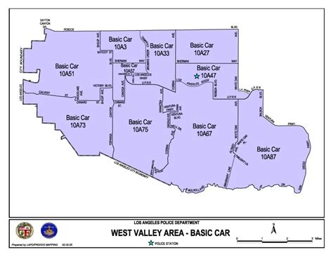 LAPD MAPS, MAY 1, 2005 to JANUARY 3, 2008
