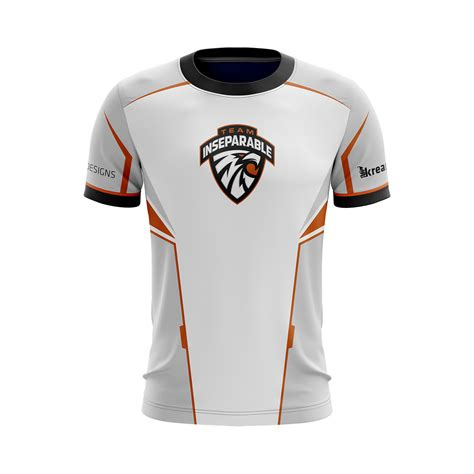 Official Team Inseparable Jersey - Custom Esports