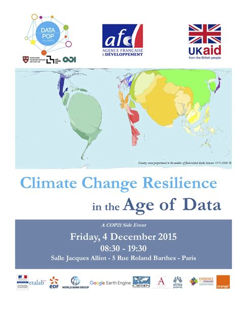 Climate Change Resilience in the Age of Data   Data-Pop