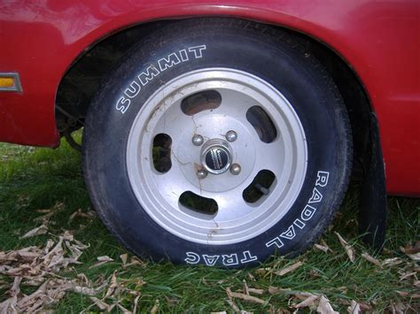 1974 - 1978 Mustang II Tire and Wheels Picture Thread