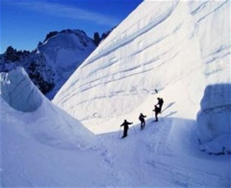 information off piste and Vallee Blanche in Chamonix Mont