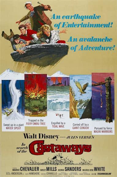 The Disney Films: In Search of the Castaways - 1962