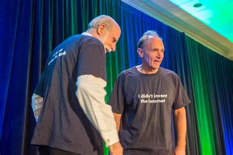 W3C20: Web and Internet t-shirts for Tim Berners-Lee & Vin