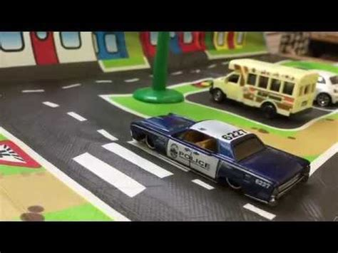 Hot wheels - Police car - 64 Lincoln Continental - YouTube