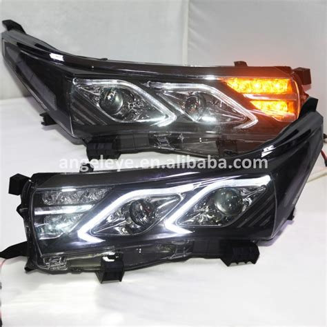 For TOYOTA Corolla LED Strip head lamp Front lights For