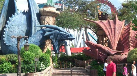 Dueling Dragons - Orlando Tickets, Hotels, Packages