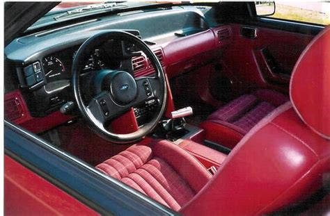 92_S_10 1988 Ford Mustang Specs, Photos, Modification Info