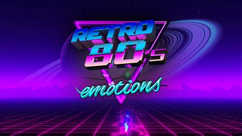 VJ 80's Synthwave Emotions by emotionica | VideoHive